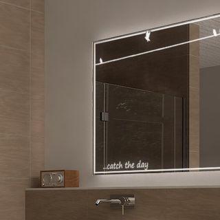 Badspiegel mit Licht Catch the day  – Bild 4