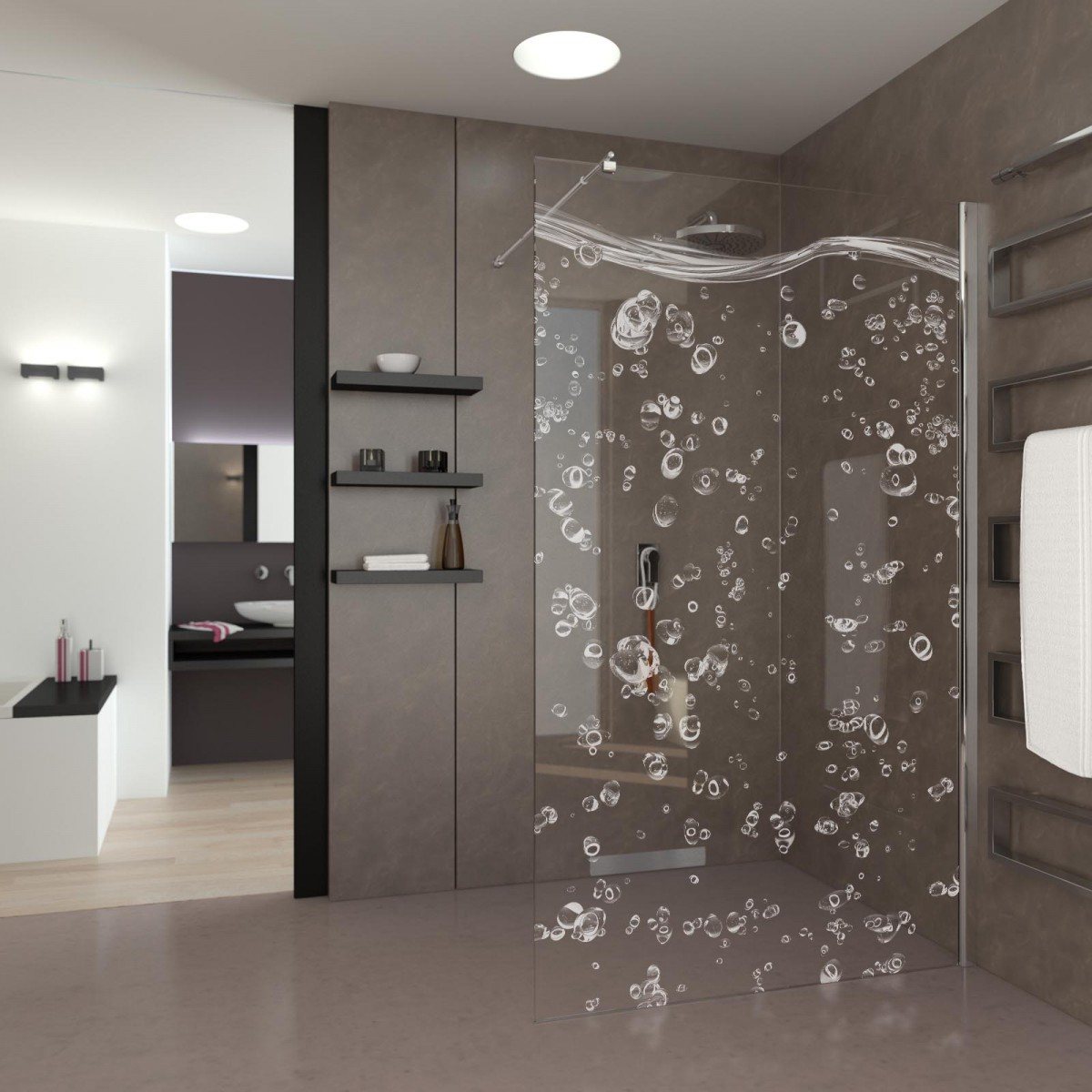 Walk In Dusche Bubbles