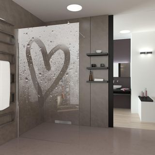 Walk In Dusche Steamy Heart – Bild 2