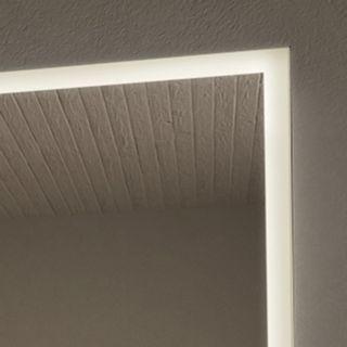 Spiegelmöbel mit Holz-Ablagen Manos – Bild 3