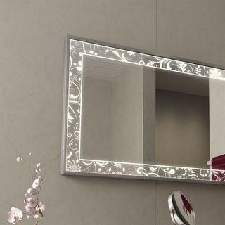 Spiegel für das Bad mit Alurahmen Fiodora – Bild 2