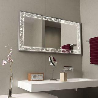 Spiegel für das Bad mit Alurahmen Fiodora – Bild 1