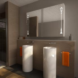 Spiegelschrank für das Bad Brügge