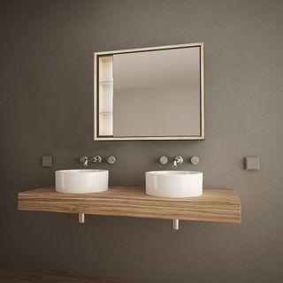 Spiegelschrank für das kleine Bad Senza  – Bild 1
