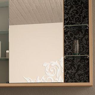 Spiegelschrank mit Zusatzfächern Ranina  – Bild 3