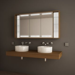 Spiegelschrank rundum beleuchtet Lucidus  – Bild 1