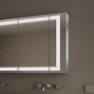 spiegelschr nke aus aluminium kaufen badspiegel shop. Black Bedroom Furniture Sets. Home Design Ideas