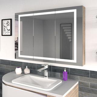 Spiegelschrank nach Maß mit LED Runtom  – Bild 1