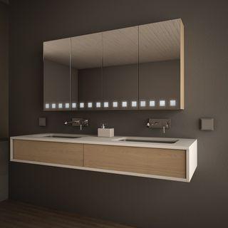 Spiegelschrank-Klassiker Quadrato  – Bild 1