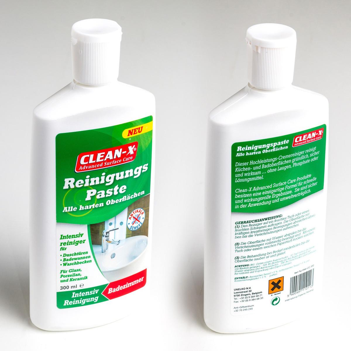 Clean-X Reinigungspaste für harte Oberflächen