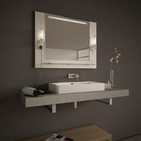 Spiegelmöbel Nantes mit Ablage