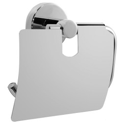 FairSan Papierhalter mit Deckel, verchromt