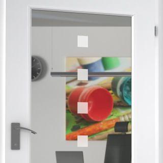 Lichtausschnitt für Holztür Aknor – Bild 2