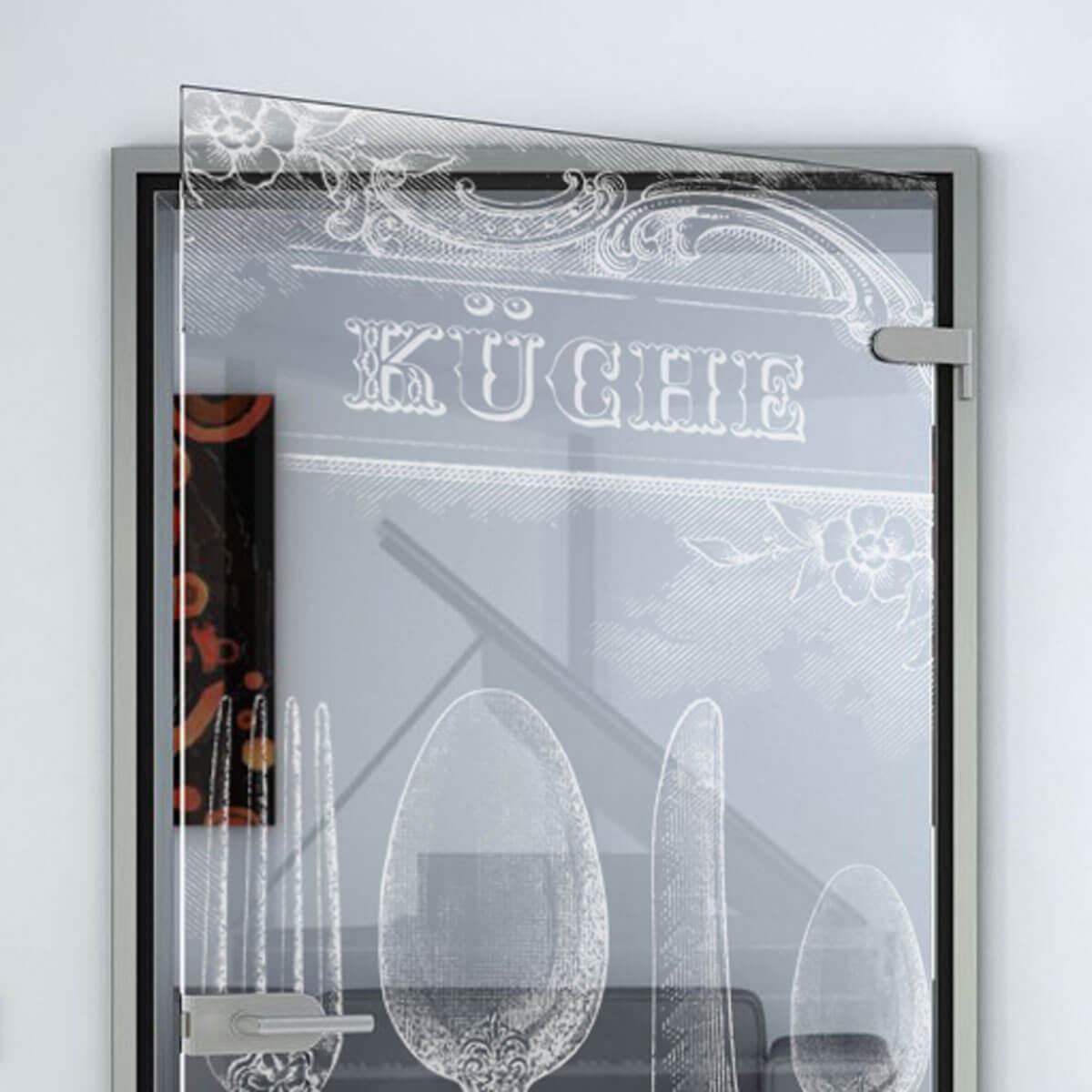 Glastür Küche glastür retro küche 989706508