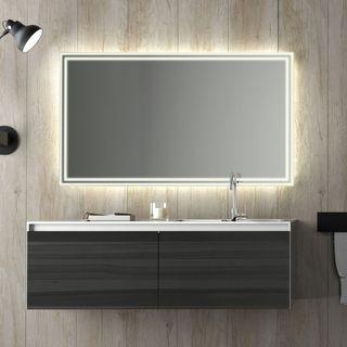 Badspiegel mit Ablage kaufen nach Maß | Badspiegel Shop