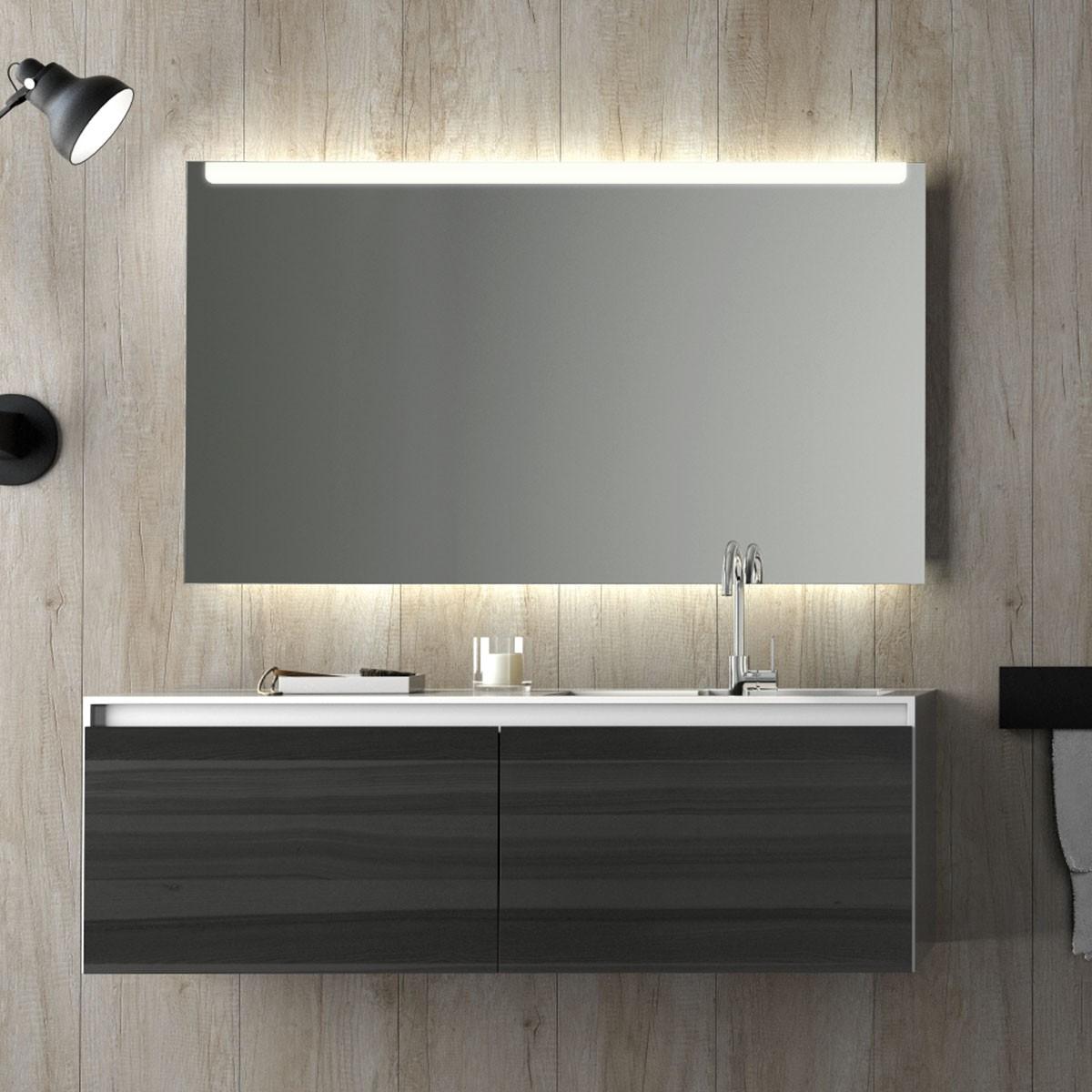 Relativ Badspiegel beleuchtet mit LED Puro 989706543 CR67