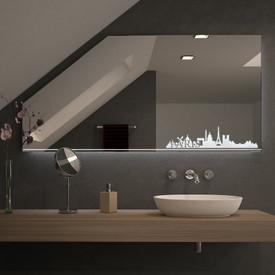 Spiegel für Dachschrägen – LED Parisienne