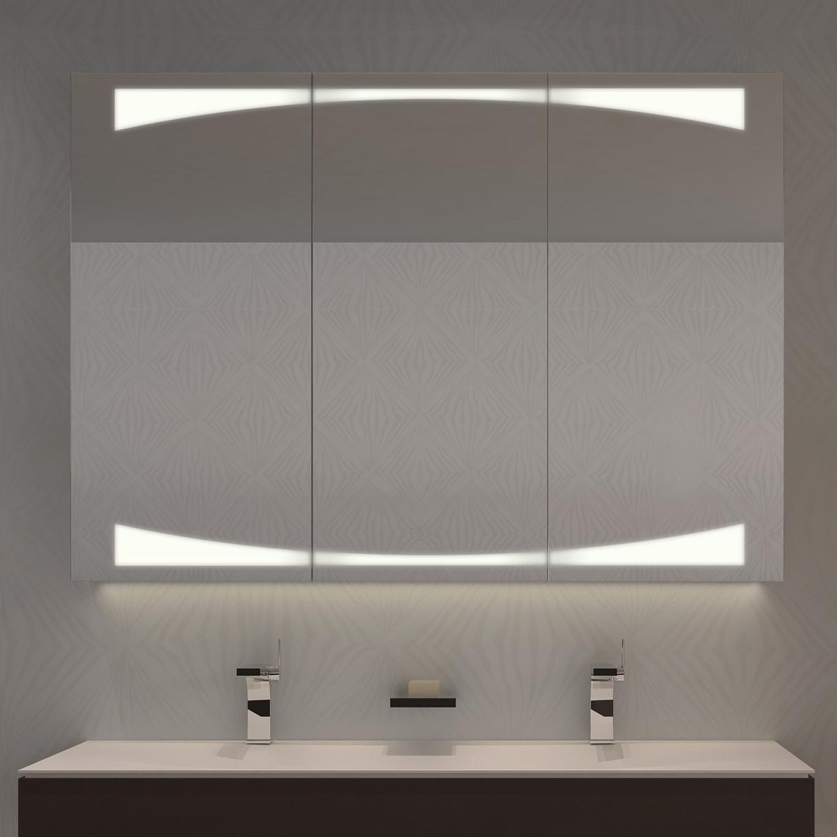 Spiegelschrank mit Lichtauslässen Ranran