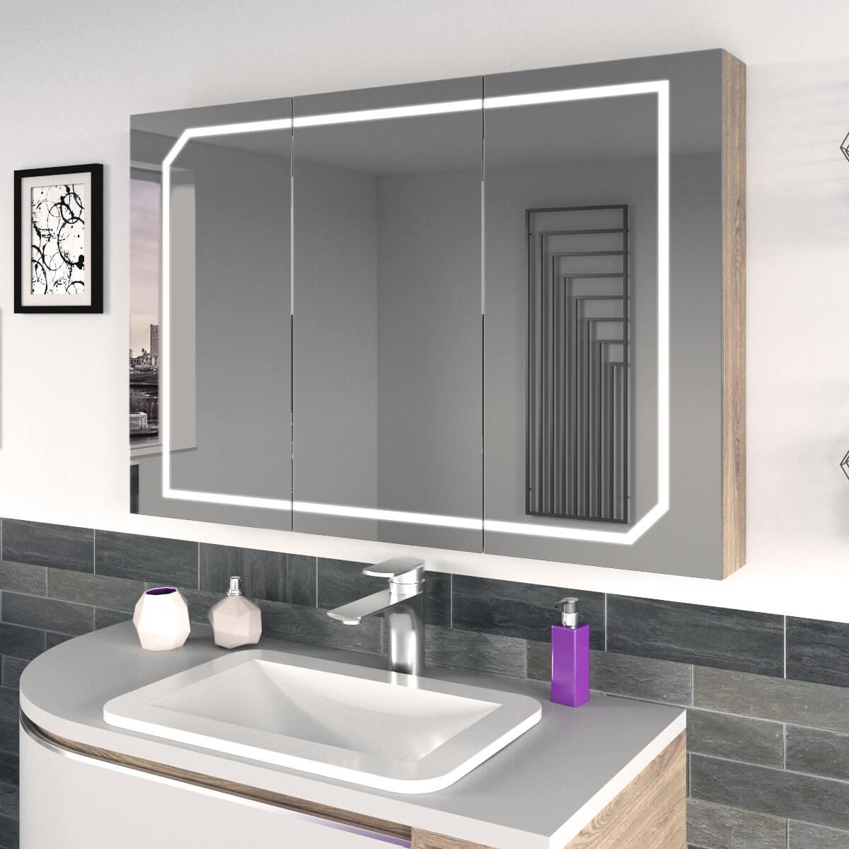 Spiegelschrank fürs Badezimmer nach Maß Stoco