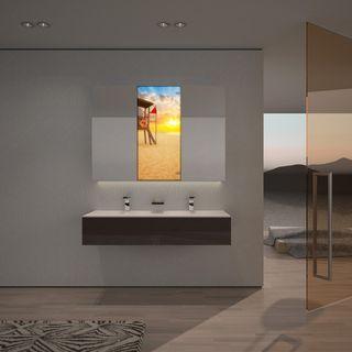 Spiegelschrank mit Strandmotiv Sunshine  – Bild 2