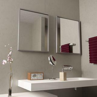 Badspiegel mit Alurahmen Alfa  – Bild 2