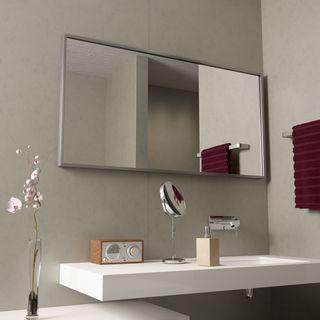 Badspiegel mit Alurahmen Alfa  – Bild 1