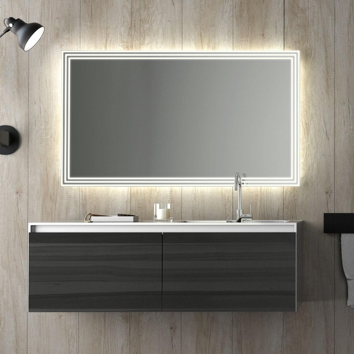 Badspiegel LED Baruyt