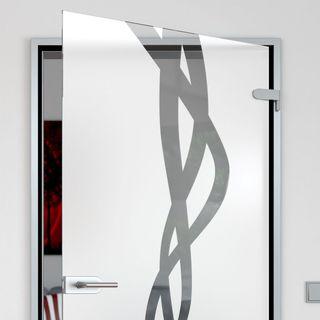 Glastür gestrahlt Tentakel – Bild 2