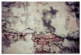 Glasbild Cracked Wall – Bild 3