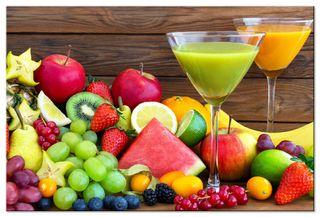 Glasbild Frucht Mix – Bild 3