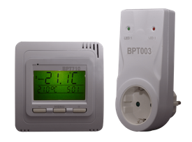 Funk-Thermostat Set BPT710 + BPT003 (Aufputz)