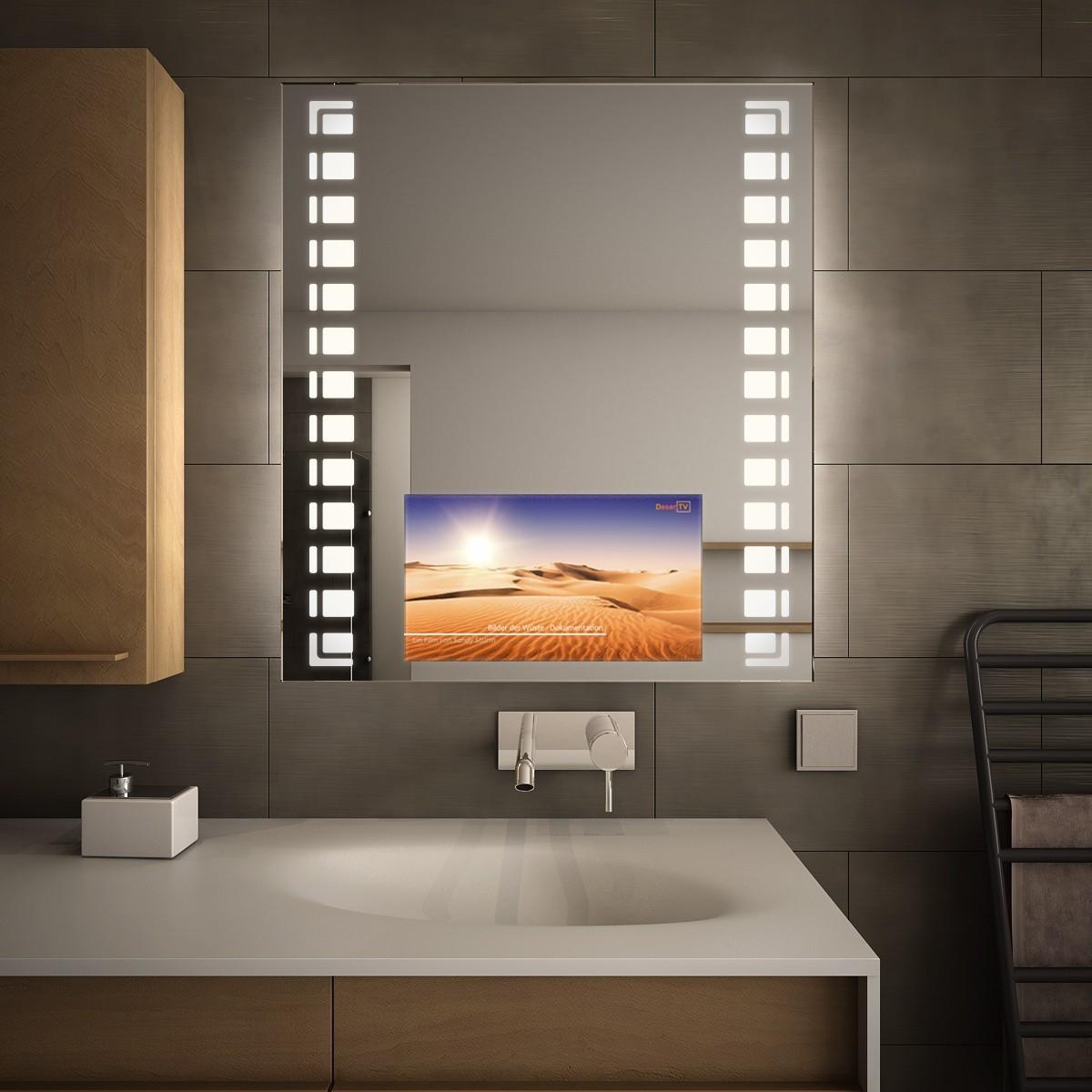 Badspiegel mit Monitor Loka