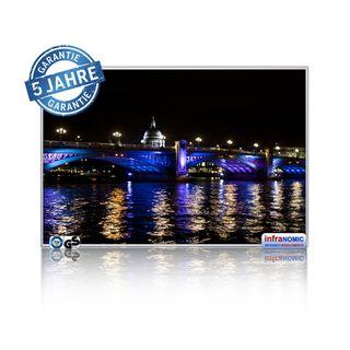 Infrarot Bildheizung London bei Nacht