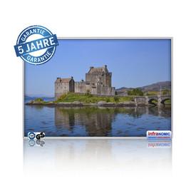 Infrarot Bildheizung Eilean-Donan Castle
