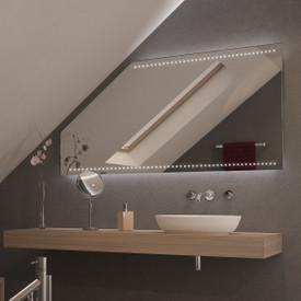 Spiegel für Dachschrägen mit LED Beleuchtung Pointa