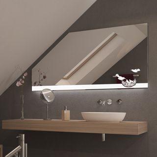 Spiegel für Dachschrägen mit LED Beleuchtung Pajaro