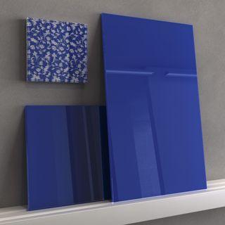 Glas-Küchenrückwand lackiert in RAL-Farbe nach Maß – Bild 7