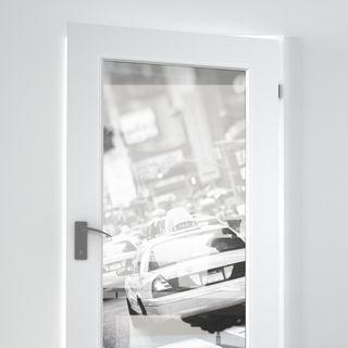 Lichtausschnitt gelasert mit Motiv Taxi drive – Bild 2