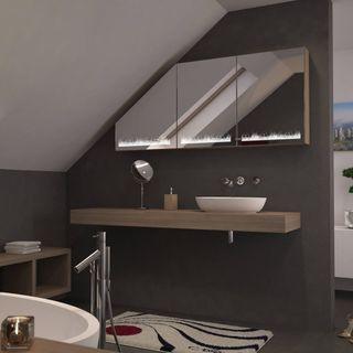 Dachschrägen-Spiegelschrank Wiesbaden – Bild 2