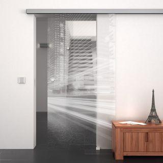 glasschiebet r gelasert mit motiv citylights 989707327. Black Bedroom Furniture Sets. Home Design Ideas