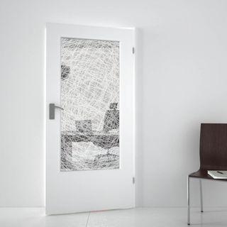 Lichtausschnitt gelasert mit Motiv Chaos (989707613) ab 279,00 EUR von Lionidas auf glastüren-shop.com