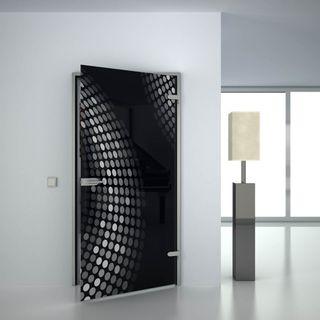 Glastür lackiert mit Lasermotiv Eckernförde (989707768) ab 659,00 EUR von Lionidas auf glastüren-shop.com