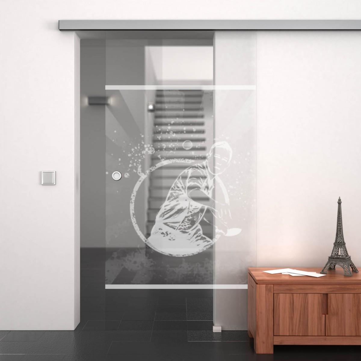 glasschiebet r gelasert mit motiv tischtennis 989708063. Black Bedroom Furniture Sets. Home Design Ideas