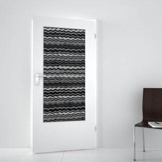 Lichtausschnitt lackiert mit Lasermotiv Many Waves (989708338) ab 279,00 EUR von Lionidas auf glastüren-shop.com