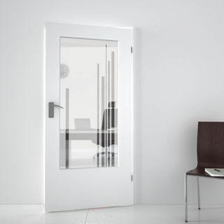 Lichtausschnitt satiniert mit Motiv Solus (989708620) ab 169,00 EUR von Lionidas auf glastüren-shop.com