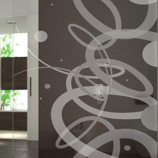 Walk In Dusche gelasert mit Motiv Traum – Bild 3