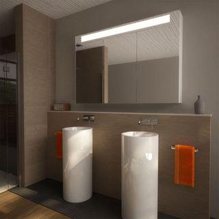 LED Spiegelschrank mit Aluminium-Korpus nach Maß - Durham – Bild 2