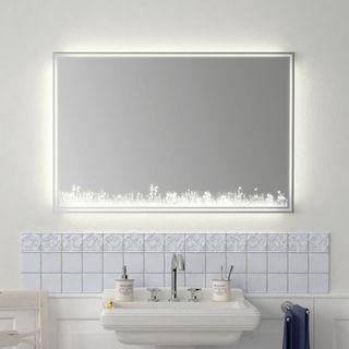 Badspiegel Wiese SOPO 0431 900x1000mm – Bild 1