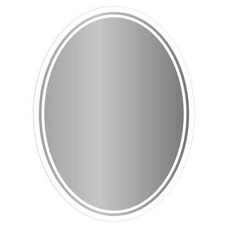 Ovaler Spiegel mit LED nach Maß Meyla – Bild 3