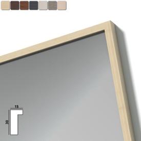 Spiegel mit Holzrahmen nach Maß - Don
